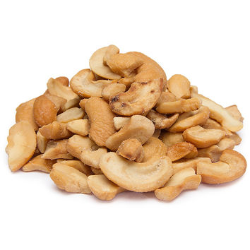Cashews - Roasted and Salted Pieces: 25LB Case