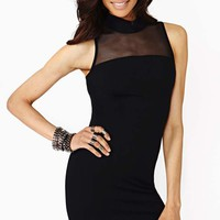 Persuasion Mesh Dress