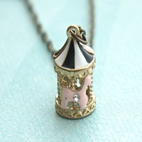 carousel necklace
