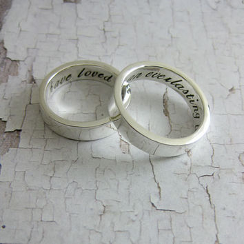 Featured at Etsy Bridal Show in New York  His & by MetalPressions