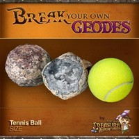 "Break Your Own Geode ""Tennis Ball Size"" By Ancient Treasure Adventures"