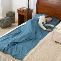 Travelers' Sleeping Sacks at Brookstone—Buy Now!