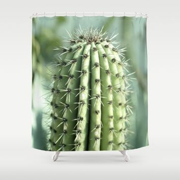 Cactus  Shower Curtain by VanessaGF