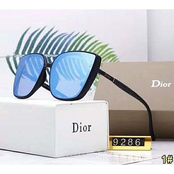 DIOR Popular Women Men Casual Summer Sun Shades Eyeglasses Glasses Sunglasses 1#