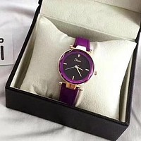 Dior Woman Men Fashion Quartz Movement Wristwatch Watch