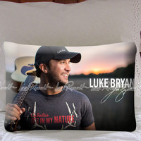 Luke Bryan Its In My Nature on Decorative Pillow Covers