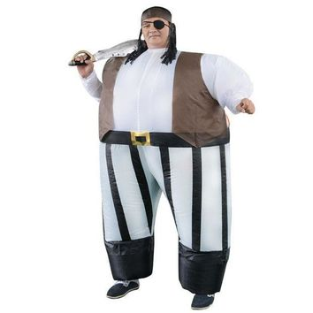 CREY6F Stag night Halloween costume cosplay Adult costumes Fancy Dress Inflatable Sumo Pirates of the Caribbean sexy anime suit
