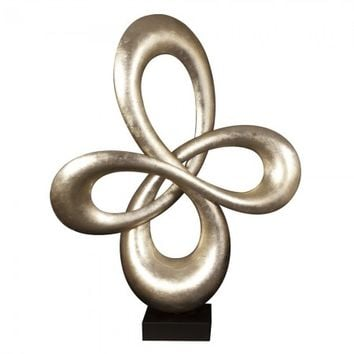 Abstract Infinity Sculpture 22098 by Howard Elliott - Opulentitems.com
