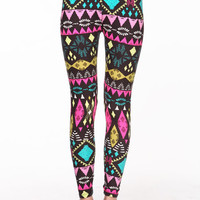 TRIBAL ART LEGGINGS