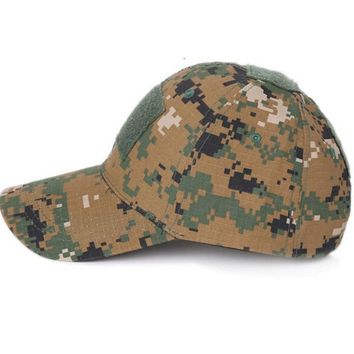Military Tactical Molle Cap Outdoor Sports Hiking Hats Trucker Outdoor Retro Camo Schirmmtze Schild Kappe Tarn Army