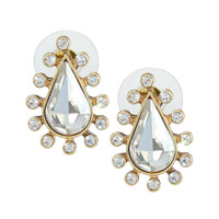 Crystal Love Stud Earrings