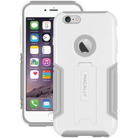 "Macally Iphone 6 Plus 5.5"" Hardshell Case With Stand (white)"