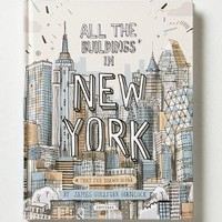 All The Buildings In New York  by Anthropologie in Multi Size: One Size Books