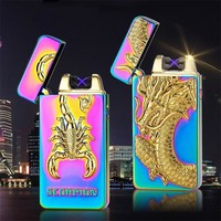 "EQcreative Plus ""Trippie Psychedelic"" USB Rechargeable Plasma Arc Lighter"