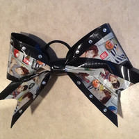 Duct Tape Cheer Bow-One Direction