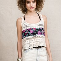 Urban Renewal Boxy Bouquet Cami - Urban Outfitters