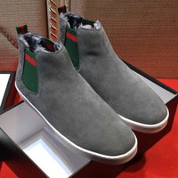Gucci Fashion Casual Flats Shoes Boots Shoes