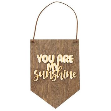 You Are My Sunshine - Nursery Wall Decor - Bedroom