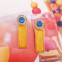 Mango Punch Earring