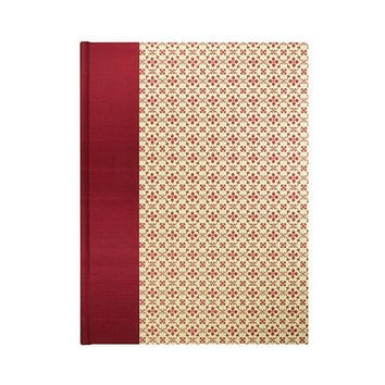 Recipe Book Blank Retro Red