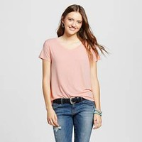 Women's Short Sleeve Softest V-Neck Tee - Mossimo Supply Co.™ : Target