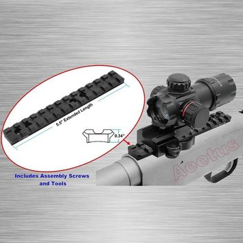 Mossberg 500 Scope Mount 13 Slot Picatinny Rail Top Rail Mount for Mossberg 500,590,835 Maverick 88 Free Shipping