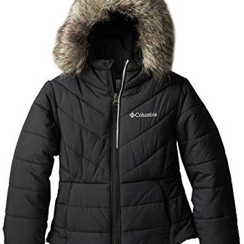 Columbia Little Girls'  Katelyn Crest Jacket, Black, XX-Small