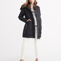 SHINY PARKA PUFFER JACKET