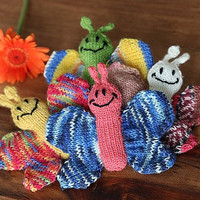 Butterfly knitting pattern PDF, mobile hangers, baby gift, diy gift and decoration, gift for kids and adults, baby shower