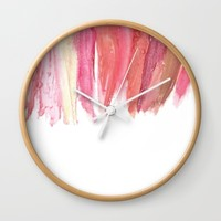 Lipstick Wall Clock by KJ Designs