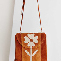 Ecote Floral Applique Crossbody Bag - Urban Outfitters