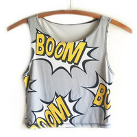 BOOM BOOM POW CROP TOP