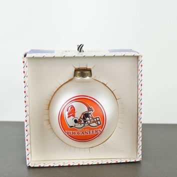 Tampa Bay Buccaneers Vintage NFL Christmas Ornament Glass Christmas Tree Ball