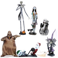 The Nightmare Before Christmas Trading Figures - Series 1 : COMPLETE SET