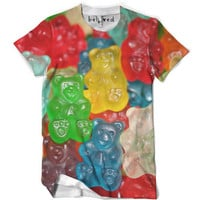 Gummy Bear Mens Small Tee Defect