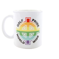 GOLF PRIDE MUG WHITE