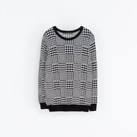 TWEED SWEATER - Knitwear - Woman | ZARA United Kingdom