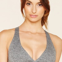 Low Impact - Marled Sports Bra