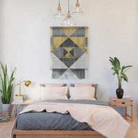 Geometric XXIV Wall Hanging by tmarchev