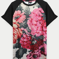 ANDCLOTHING — AND.ALSO Floral Tee