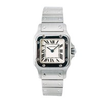 Cartier Santos Galbee quartz womens Watch 1565 (Certified Pre-owned)