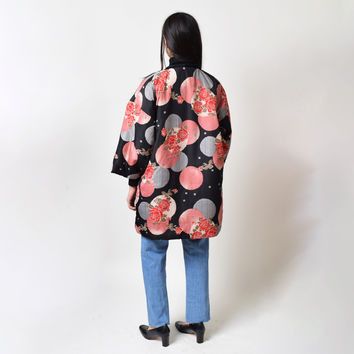 Vintage Insulated Haori Jacket