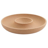 Amorim Cork I Fill Apart Chip and Dip Bowl in Tan