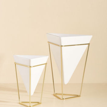 Exemplary Contemporary Tabletop Vase Set | Mod Retro Vintage Decor Accessories | ModCloth.com