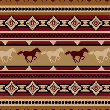 Signature Select On The Move Horse Lodge Queen Blanket - Free Shipping in the Continental US!