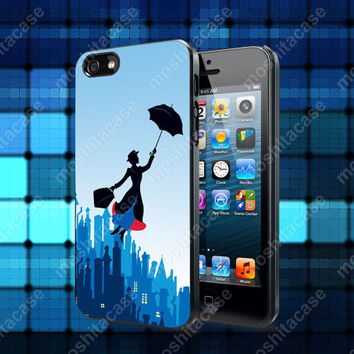 Mary Poppins Case For iPhone 5, 5S, 5C, 4, 4S and Samsung Galaxy S3, S4