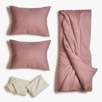 Desert Rose Jersey Duvet Bed Set