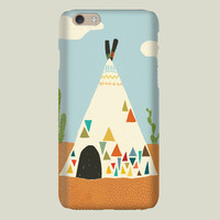 Indian Tent iPhone case by pikas on BoomBoomPrints