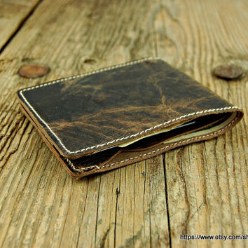 Wallet men's leather wallet  leather wallet men leather wallet minimal Wallet travel wallet men's  groomsmen gift mens wallet