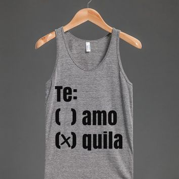 TE AMO OR QUILA TANK TOP ID790001